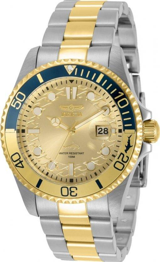 Invicta Pro Diver Gold Tone Dial Quartz 30948 100M Men's Watch