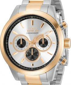 Invicta Speciality Chronograph Silver Dial Quartz 30983 100M Men's Watch