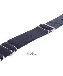 Ratio LS19 Black Leather Strap 22mm