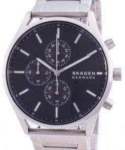 Skagen Holst Chronograph Black Dial Quartz SKW6609 Men's Watch