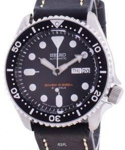 Seiko Automatic Diver's Black Dial SKX007J1-var-LS16 200M Men's Watch