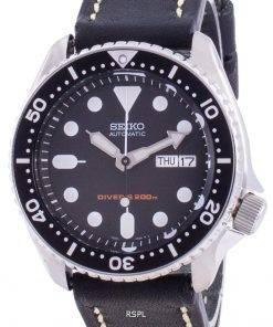 Seiko Automatic Diver's Black Dial SKX007K1-var-LS16 200M Men's Watch