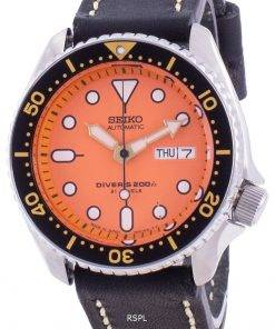 Seiko Automatic Diver's SKX011J1-var-LS16 200M Japan Made Men's Watch