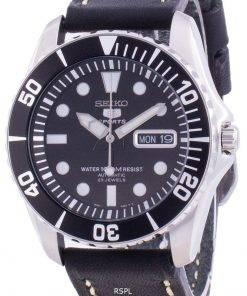 Seiko Automatic Diver's Black Dial SNZF17K1-var-LS16 100M Men's Watch