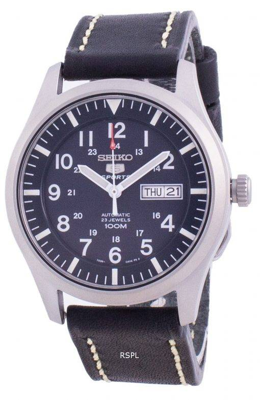Seiko 5 Sports Blue Dial Automatic SNZG11K1-var-LS16 100M Men's Watch