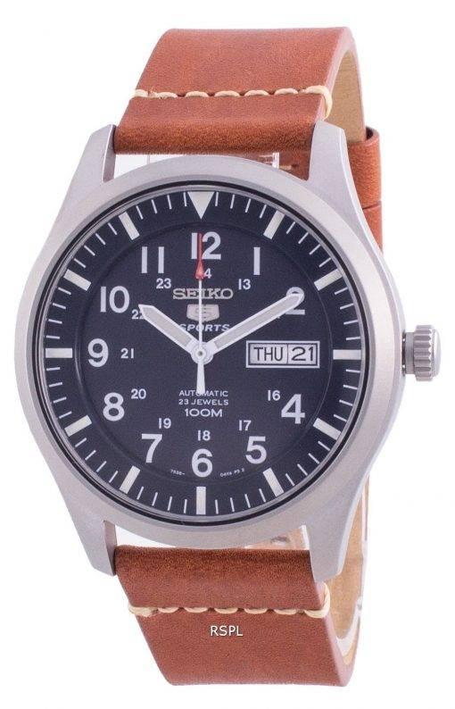 Seiko 5 Sports Blue Dial Automatic SNZG11K1-var-LS21 100M Men's Watch