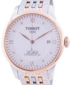 Tissot Le Locle Powermatic 80 Automatic T006.407.22.036.00 T0064072203600 Men's Watch