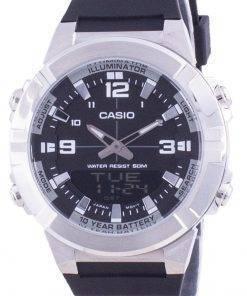 Casio Analog Digital World Time Resin Strap AMW-870-1A AMW870-1 Mens Watch