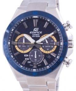 Casio Edifice Solar Powered Chronograph EQS-800BCD-2A EQS800BCD-2 100M Mens Watch