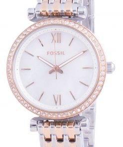 Fossil Carlie Mini Diamond Accents Quartz ES4649 Womens Watch