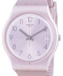 Swatch Pinkbaya Rose Gold Tone Dial Quartz GP403 Mens Watch