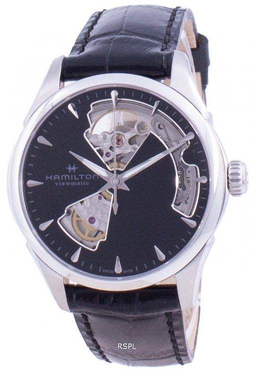 Hamilton Jazzmaster Viewmatic Open Heart Dial Automatic H32215730 Womens Watch