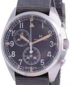 Hamilton Khaki Aviation Pilot Pioneer Chronograph Quartz H76522931 100M Mens Watch