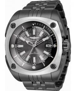 Invicta Reserve Charcoal Dial Stainless Steel Automatic 32067 100M Mens Watch