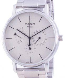 Casio White Dial Stainless Steel Quartz MTP-E320D-9E MTPE320D-9 Mens Watch