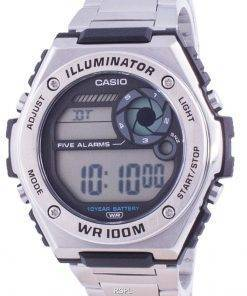 Casio Youth Dual Time MWD-100HD-1A MWD100HD-1 100M Mens Watch