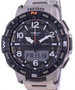 Casio Protrek Mobile Link Quartz PRT-B50T-7 PRTB50T-7 100M Mens Watch