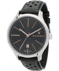 Maserati Attrazione Black Dial Quartz R8851126003 100M Mens Watch