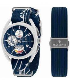 Maserati Trimarano Yacht Timer Chronograph Quartz R8851132003 100M Mens Watch