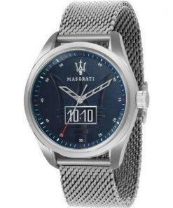 Maserati Traguardo Blue Dial Quartz R8853112002 100M Mens Watch