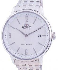 Orient Silver Dial Stainless Steel Automatic RA-AC0J10S10B Men's Watch