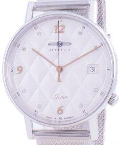 Zeppelin Grace Diamond Accents Quartz 7441M-1 7441M1 Womens Watch