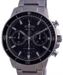 Bulova Marine Star Quartz Divers 96B272 200M Mens Watch