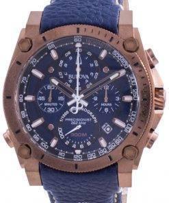 Bulova Precisionist Quartz Divers 97B186 300M Mens Watch