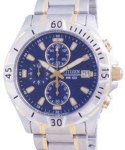 Citizen Quartz Chronograph AN3394-59L 100M Mens Watch