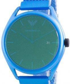 Emporio Armani Matteo Green Dial Quartz AR11328 Mens Watch