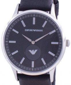 Emporio Armani Renato Black Dial Quartz AR80039 Mens Watch