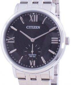 Citizen Black Dial Stainless Steel Quartz BE9170-72E Mens Watch