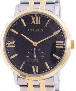 Citizen Black Dial Stainless Steel Quartz BE9176-76E Mens Watch