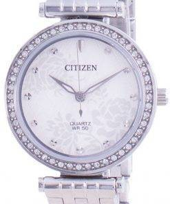 Citizen Diamond Accents Quartz ER0211-52A Womens Watch
