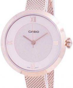 Casio Analog Pink Dial LTP-E154MPG-4A LTPE154MPG-4A Womens Watch