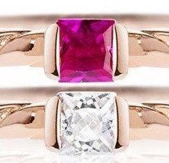 Morellato 1930 Rose Gold Tone Sterling Silver SAHA16014 Womens Ring