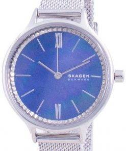 Skagen Anita Blue Mother Of Pearl Dial Quartz SKW2862 Womens Watch