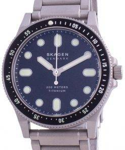 Skagen Fisk Titanium Limited Edition Quartz SKW6671 200M Mens Watch