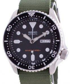 Seiko Discover More Automatic Divers SKX007K1-var-NATO9 200M Mens Watch