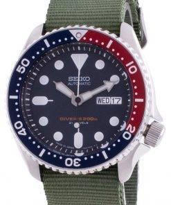 Seiko Automatic Divers SKX009J1-var-NATO9 200M Japan Made Mens Watch