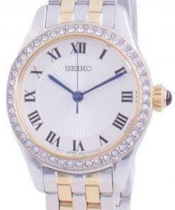 Seiko Discover More Diamond Accents Quartz SUR336 SUR336P1 SUR336P Womens Watch