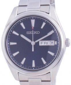 Seiko Classic Blue Dial Quartz SUR341 SUR341P1 SUR341P 100M Mens Watch