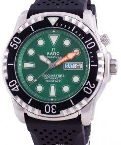 Ratio FreeDiver Helium-Safe 1000M Sapphire Automatic 1068HA90-34VA-GRN Men's Watch