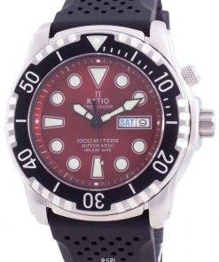 Ratio FreeDiver Helium-Safe 1000M Sapphire Automatic 1068HA90-34VA-RED Men's Watch