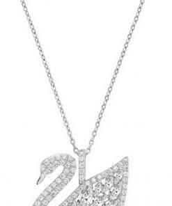 Swarovski 5169080 Swan Lake Crystal Pendant Womens Necklace