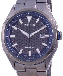 Citizen WDR Eco-Drive Blue Dial AW1147-52L 100M Mens Watch