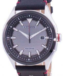 Citizen WDR Eco-Drive Black Dial AW1148-09E 100M Mens Watch