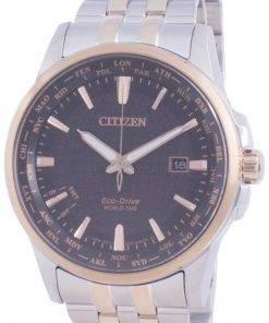 Citizen World Time Perpetual Calendar Eco-Drive BX1006-85E Mens Watch
