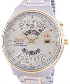 Orient Mechanical Contemporary FEU00000CW Multi-Year Calendar Mens Watch