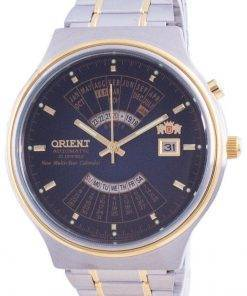 Orient Wide Multi-Year Calendar Blue Dial Automatic FEU00000D Mens Watch